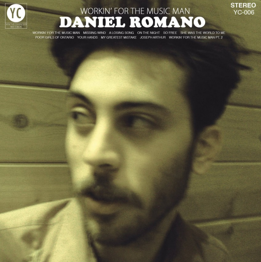 "New Release: Daniel Romano – ""Workin' For the Music Man"""