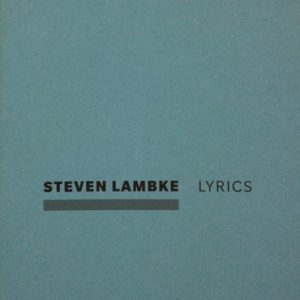 steve-lyrics-book