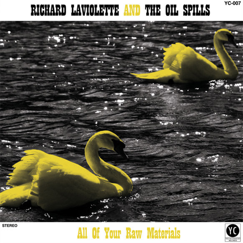 "New Release: Richard Laviolette – ""All of Your Raw Materials"""