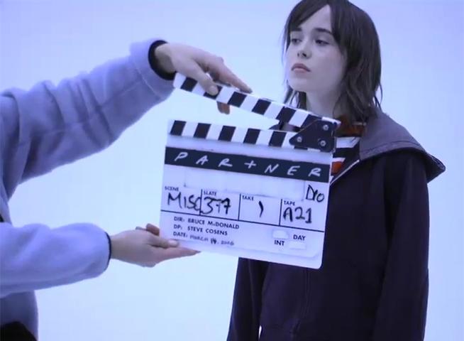 "Music Video: Partner – 'The ""Ellen"" Page'"
